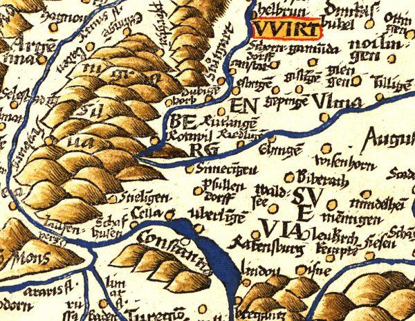 Prolemäus reloaded. Waldseemüller. Historische Kartografie