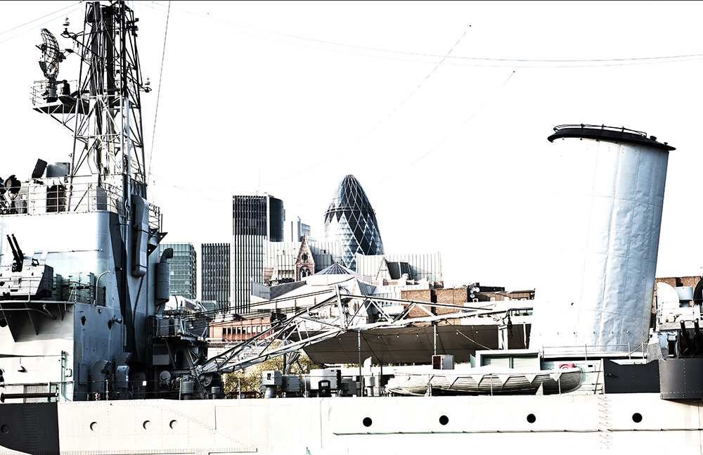 "London, Museumsschiff ""HMS Belfast"""