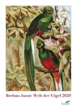 Kunstkalender. Vogel-Illustrationen aus Brehms Tierleben