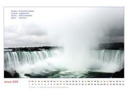 Es geschah Am Wasser. Bildkalender 2020, Niagara Falls