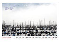 Combarro, Galizien, Kalenderblatt