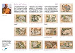 Historische Karten nach Ptolemäus von Waldseemüller, Ringmann