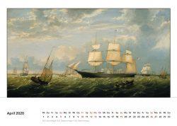 Prächtiges Segelschiff fährt in den Hafen von New York