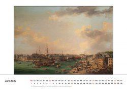 Handelsschiffe im Hafen von Brest, Gemälde