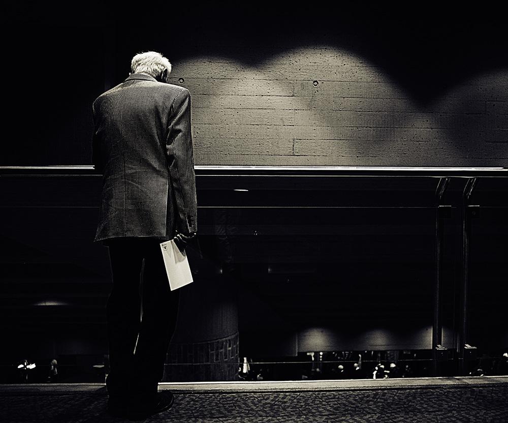 Schwarzweiß Mensch, Foto Azucena Viloria