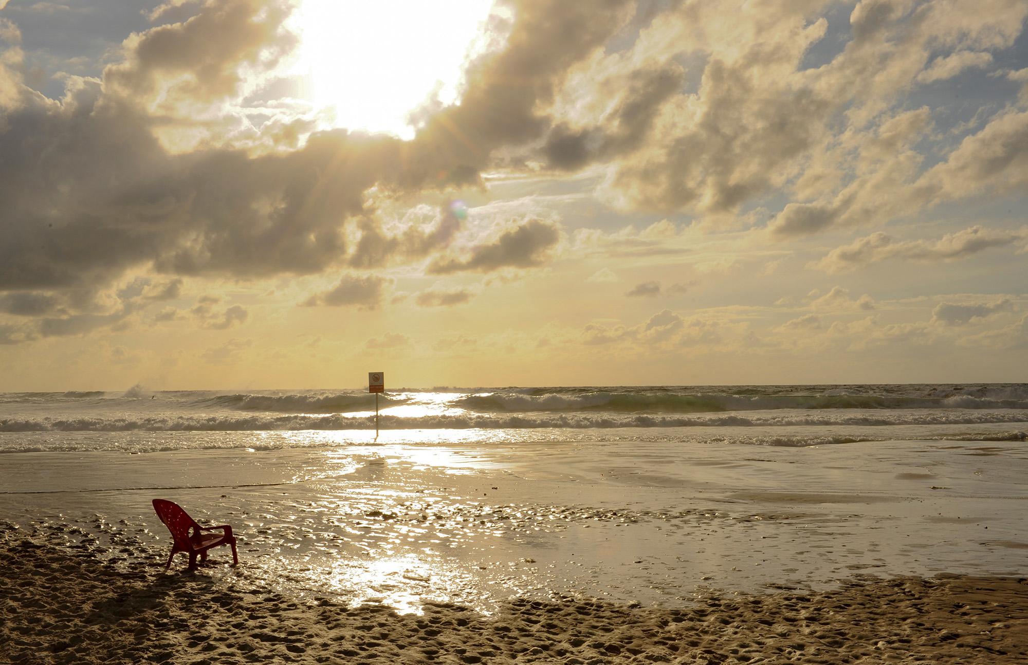 Strand In Tel Aviv Yafo, Jaffa, Vorderasien, Naher Osten, Israel