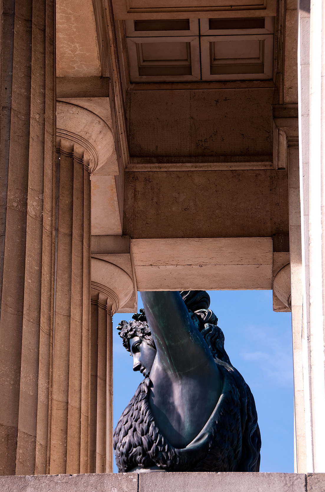 Statue der Bavaria auf der Theresienwiese München