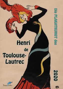 Kunstkalender. Titelbild zum Bildkalender Die Plakatkunst Des Henri de Toulouse Lautrec