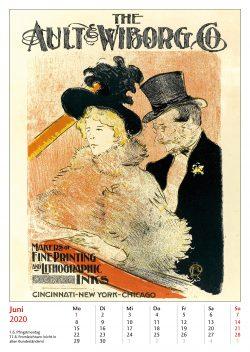 Juniblatt im Bildkalender Die Plakatkunst Des Henri de Toulouse Lautrec