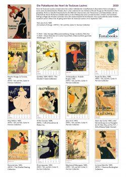 Indexblatt im Bildkalender Die Plakatkunst Des Henri de Toulouse Lautrec
