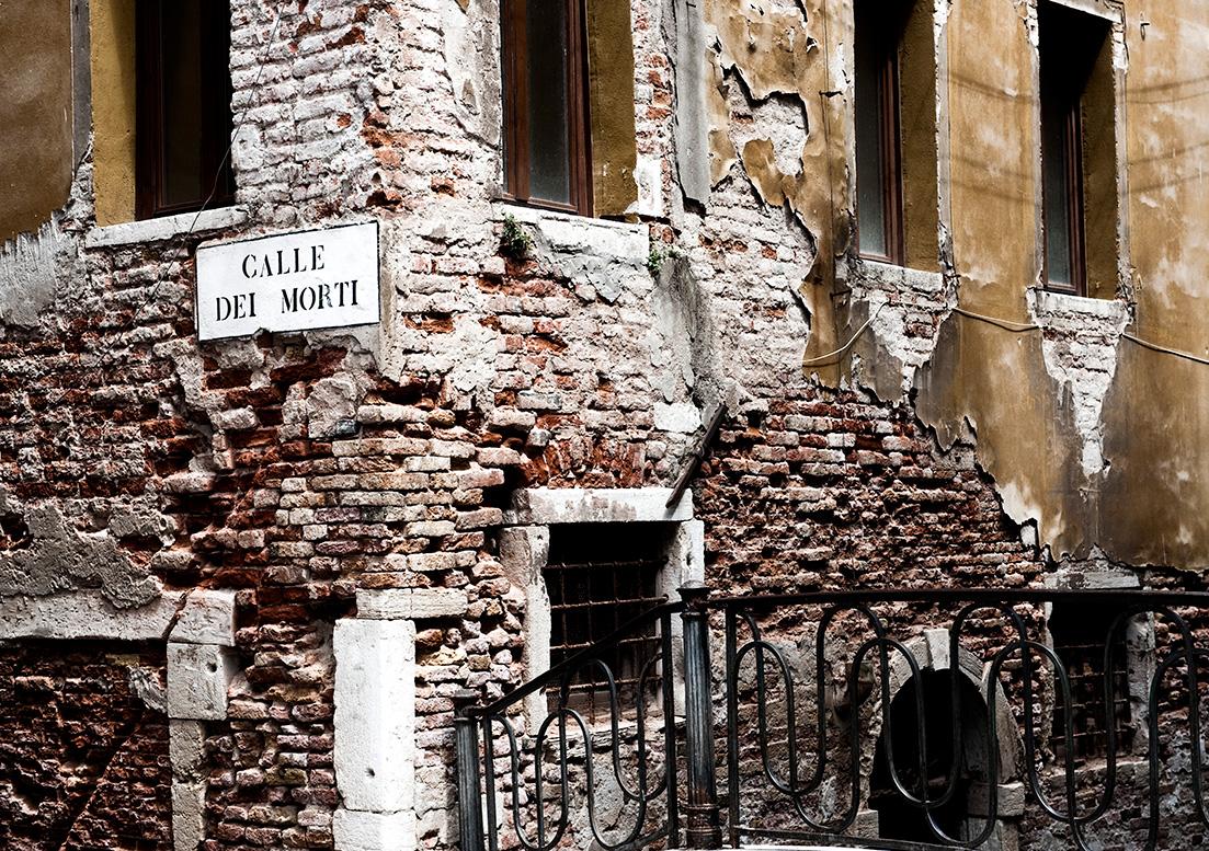 Venedig, Venice, Venezia, STraßenschild