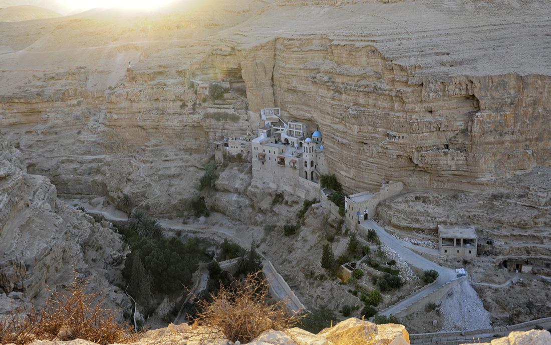 St.-Georgs-Kloster im Wadi el Qelt, Jericho